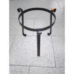 soporte de forja para macetas 24,5cm diám.-29cm alto