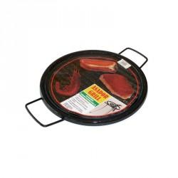 asador grill esmaltado 36cm