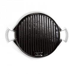 plancha de hierro fundido esmaltada 32cm