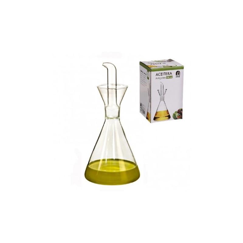 Aceitera antigoteo de cristal 250ml ferreteria vlc - Aceiteras de cristal ...
