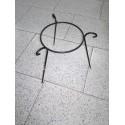 soporte de hierro para macetas 17cm diám. 19cm alto