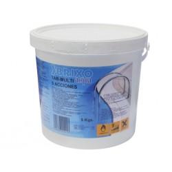 cloro tableta 5 funciones 5kg. brixo