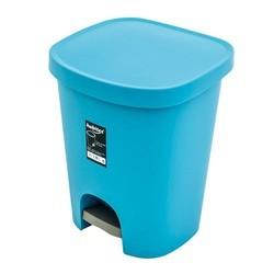 cubo de basura pedal PLASTIKEN azul
