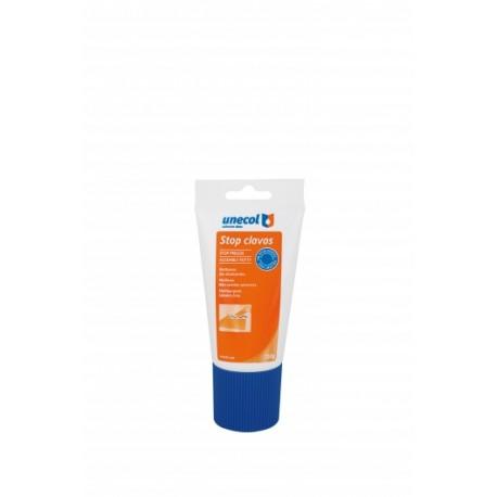 stop clavos UNECOL 150g. multiusos, sin disolventes. adhesivo para rodapiés,baldosas,fibra de vidrio...