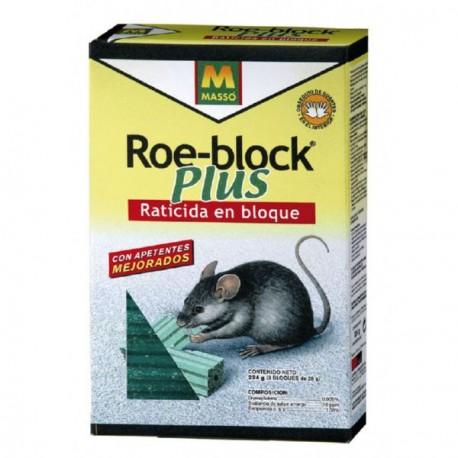 cebo raticida roe-block MASSÓ. 260g.
