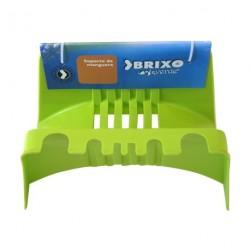 soporte para mangueras color verde pistacho. BRIXO