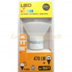 Bombilla reflectora LED R63 7w luz cálida 3200k