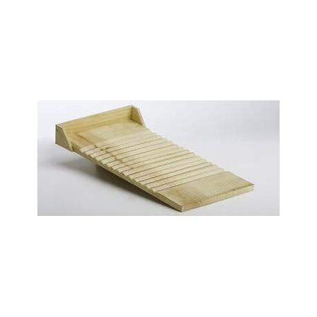 Lavadero de madera 27x50cm