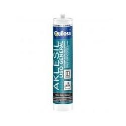silicona ácida anti-moho quilosa blanca 280ml.