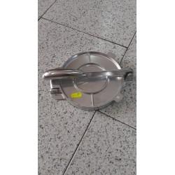 prensa tortas de metal 16,5cm