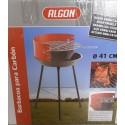 barbacoa popular ALGON 42cm diámetro, 66cm altura